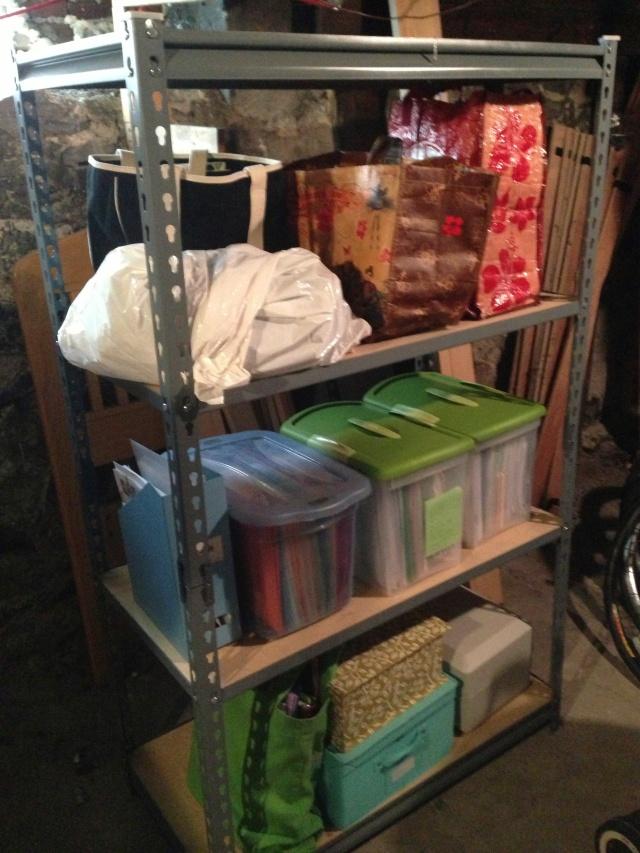 basement storage