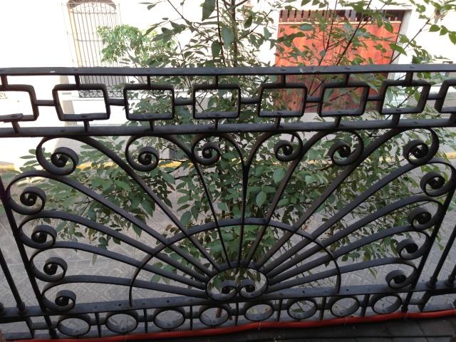 My balcony railing