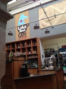 Lobo Azul Café
