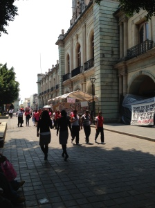 strolling the Zócalo