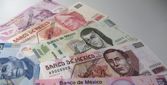 Mexican peso bills are pretty.