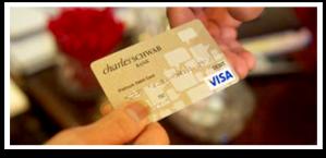 Charles Schwab ATM card