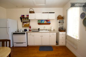 AirBNB cottage kitchen
