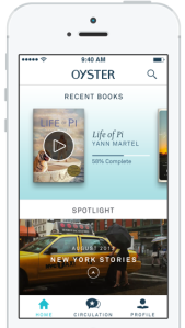 Oyster iPhone app