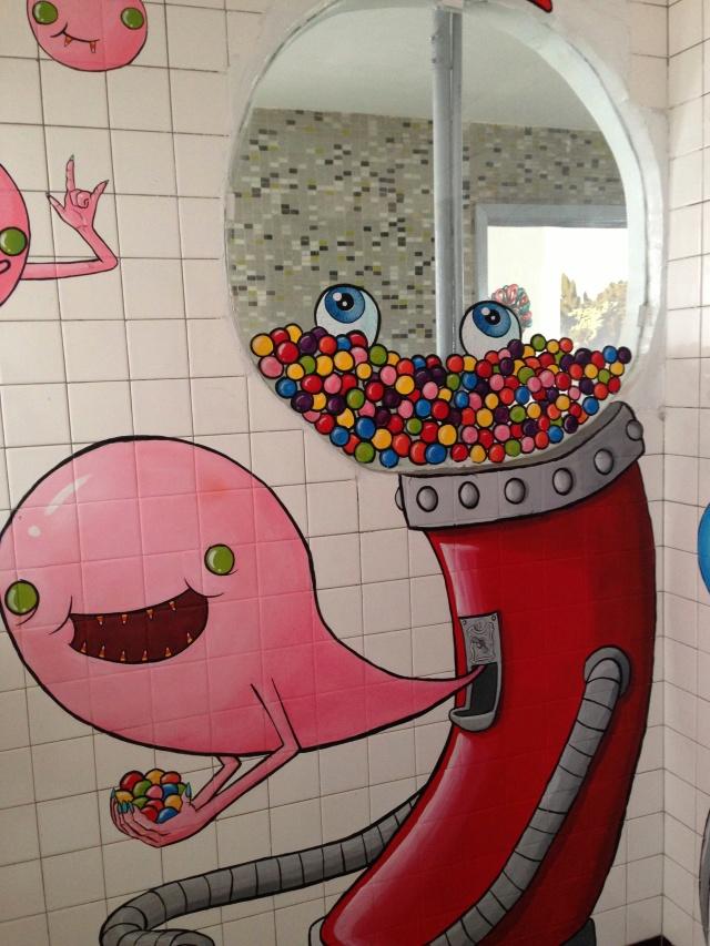 bubble gum art
