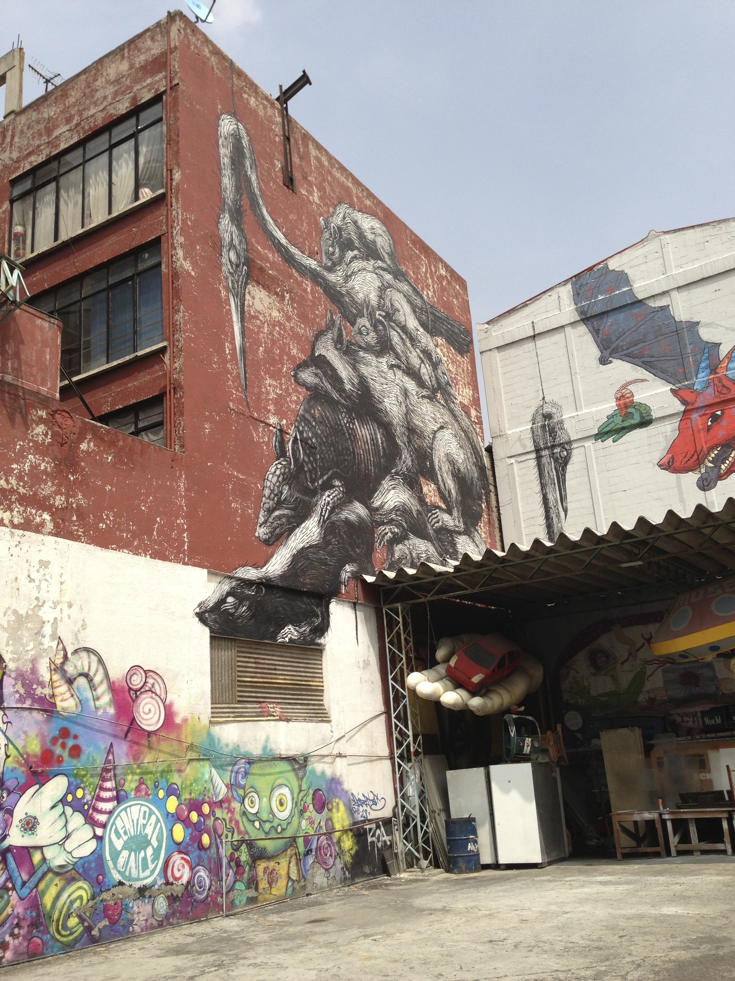 A Unique Place To See Street Art In Mexico City