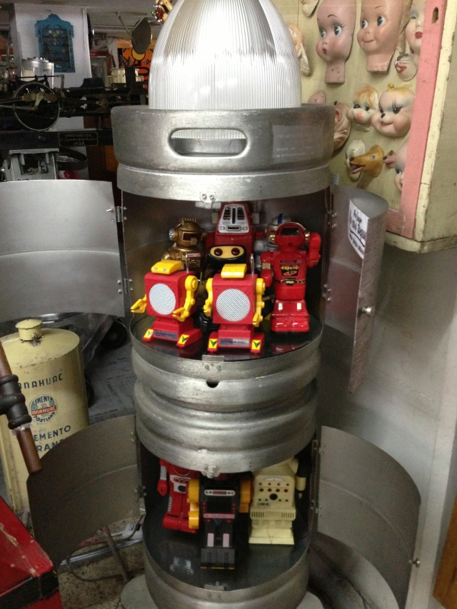 Robots in beer barrels
