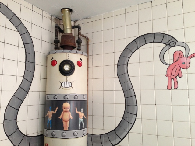 water heater art