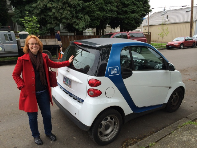 Evelyn and Car2Go