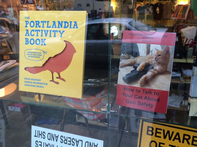 Portlandia window display