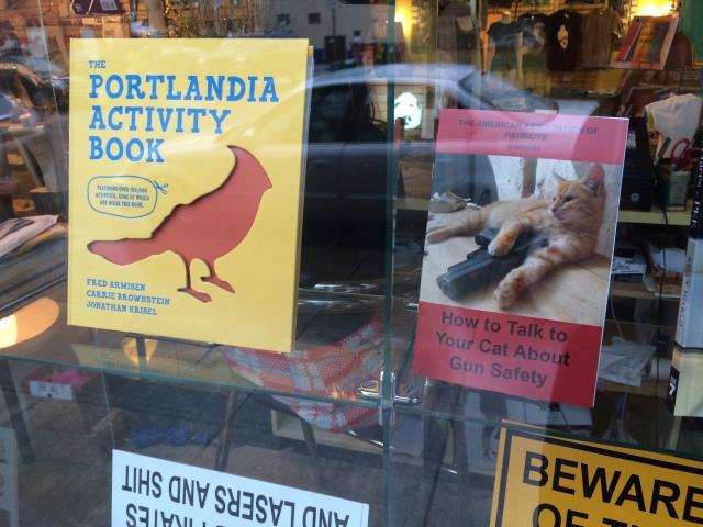 Portlandia window display