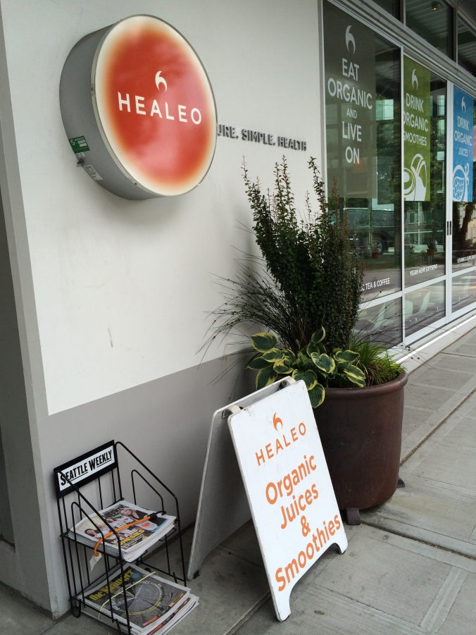 Healeo - organic juices & smoothies