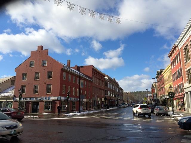 Downtown Montpelier, Vermont.