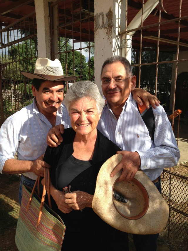 Mary Kay, Pano, & Carlos in Oaxaca.