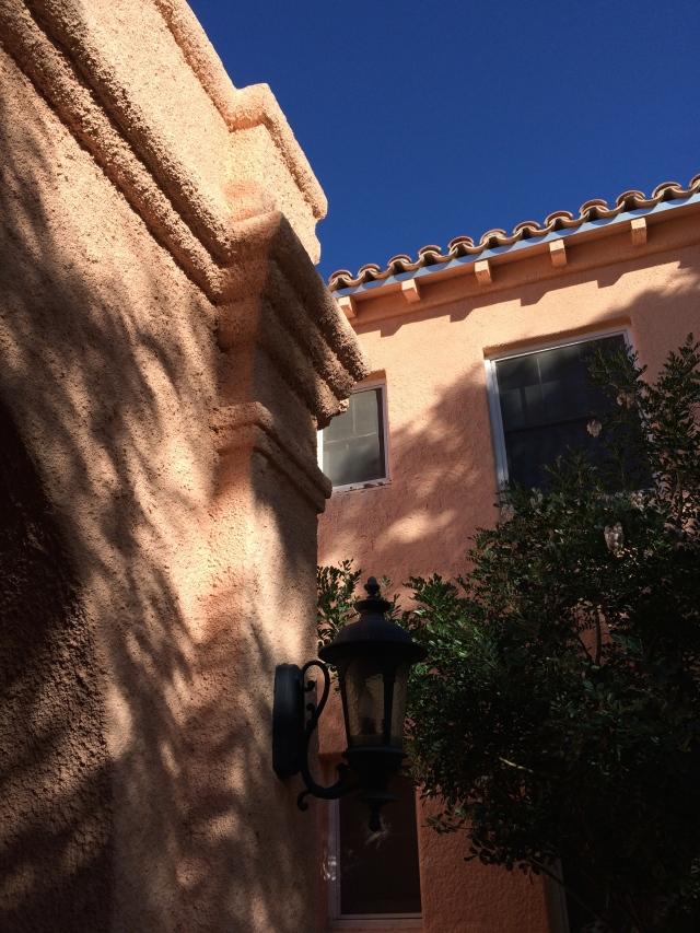 My apartment building in Tucson.