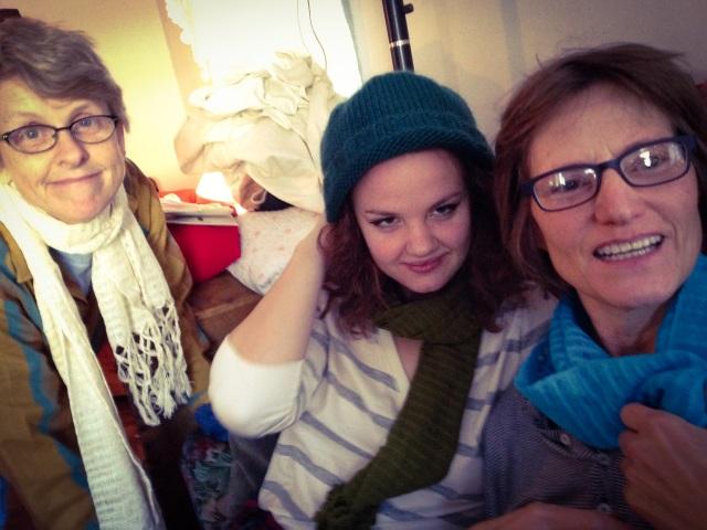 Sandy, Rosa, Melissa