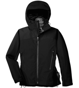 Water repellent jacket.
