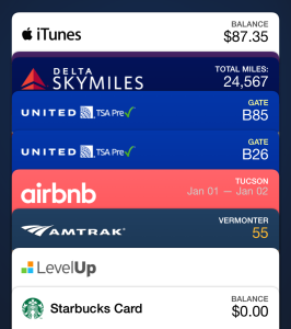Passbook iPhone app