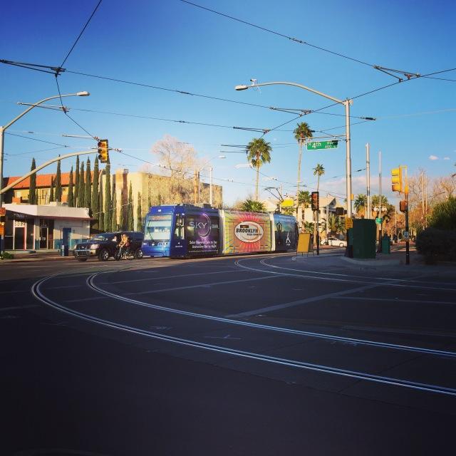 Streetcar in Tucson