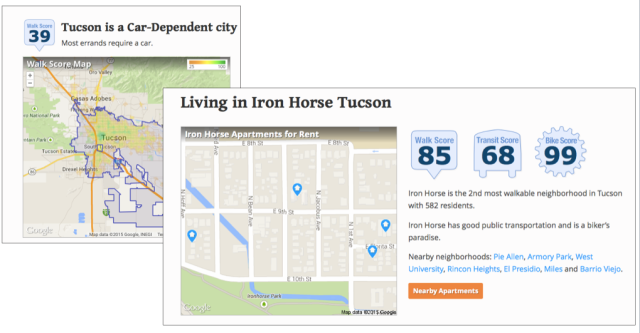 Iron Horse on Walkscore