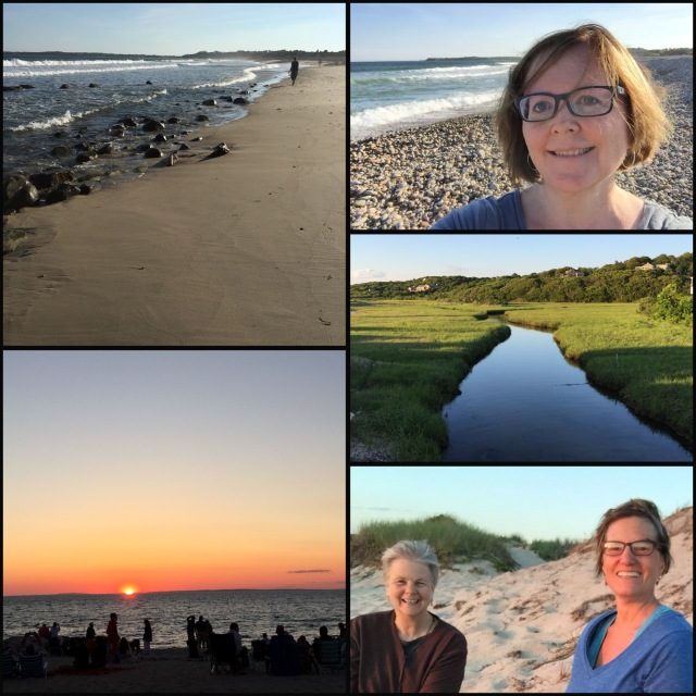 Visiting friends on Martha's Vineyard