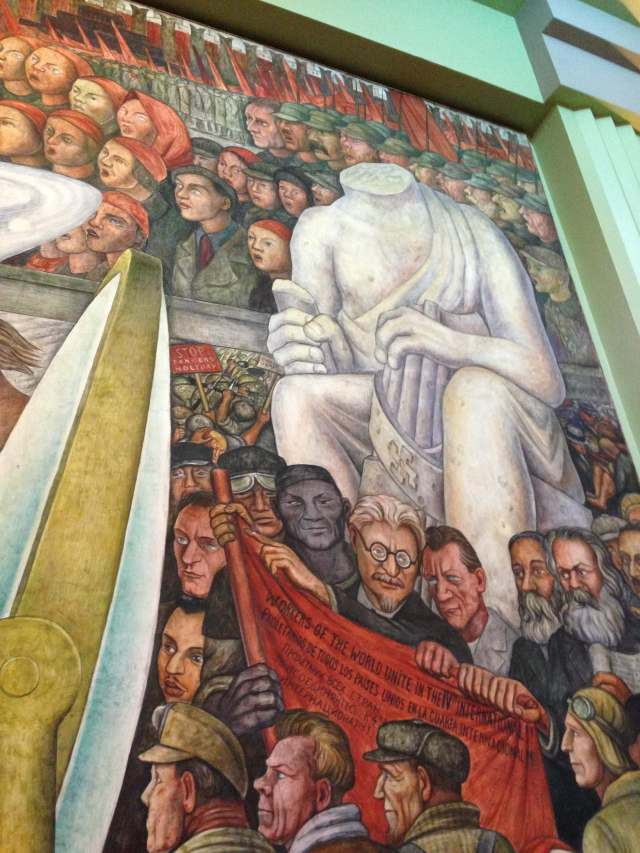 Diego Rivera's murals are really great up close.