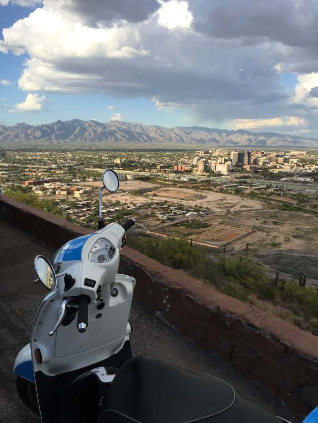 View of Tucson from Sentinel Peak