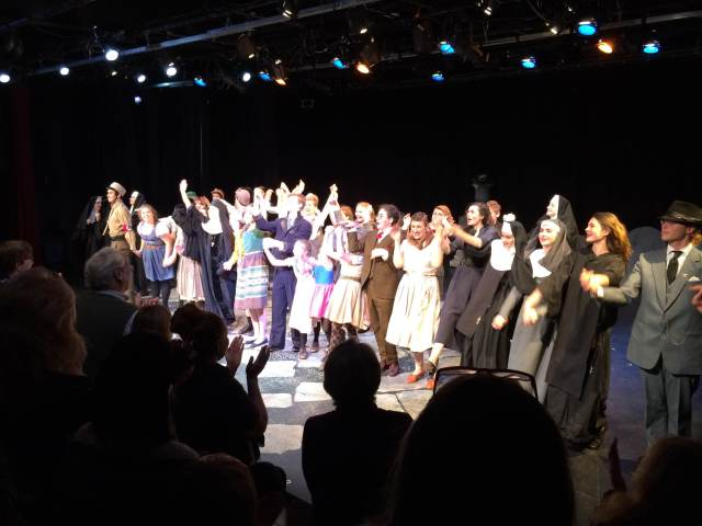 Curtain call at NEYT