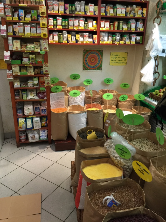 small health food store