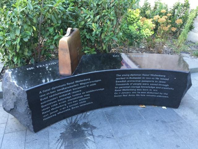 Memorial to Raoul Wallenberg.