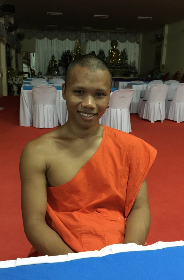 "Chert Chai, also known as ""monk Tony"""