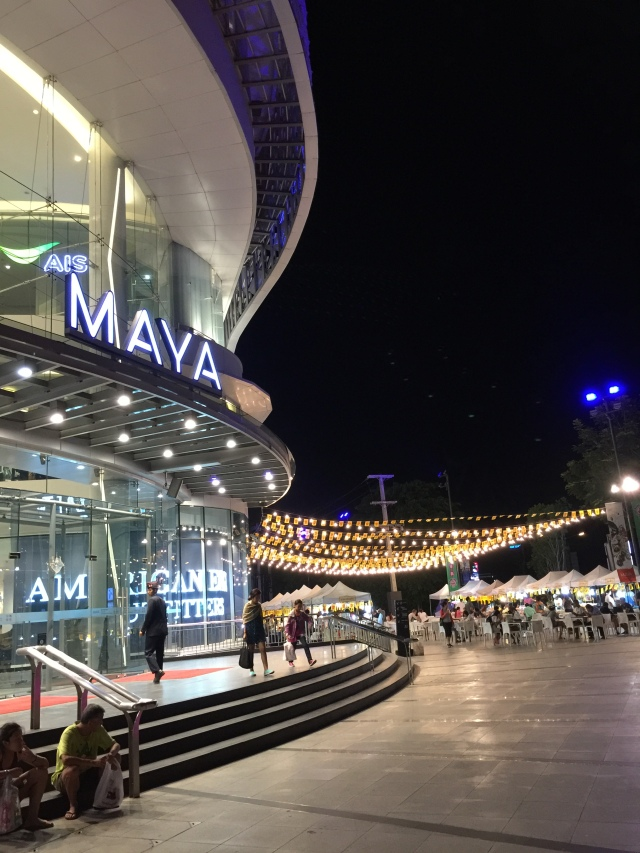Maya Mall at night